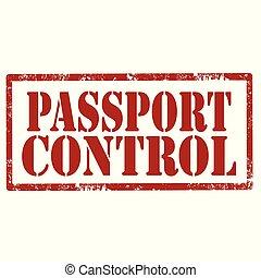Passport Control-stamp
