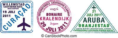 Passport Stamps - Passport stamps of Aruba, Bonaire and ...
