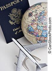 Passport still life