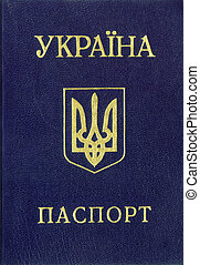 passport., ukrainien