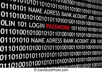 passwort, internet