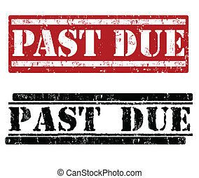 Past due stamps