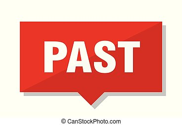 past red tag - past red square price tag