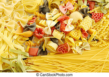 Pasta - A side dish of pasta