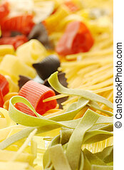 A side dish of pasta