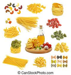pasta, blande