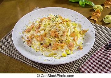 pasta brazilian food gourmet