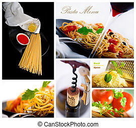 pasta collage 2