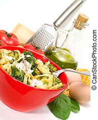 Pasta Collection - Tagliatelle with brocolli