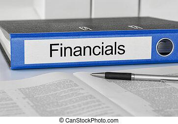 pasta, com, a, etiqueta, financials