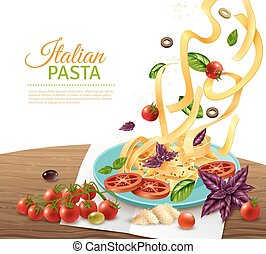 Pasta Concept Poster