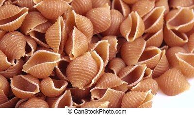 Pasta from polby bulk - Shell wholemeal spelled flour in...