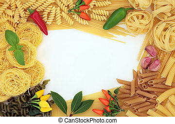 Pasta Herb and Spice Border