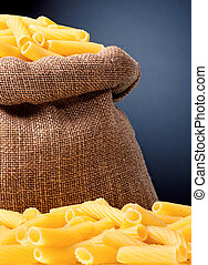 Pasta in bag