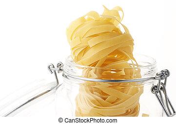 Pasta in jar
