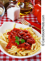 pasta, maccheroni, italiano