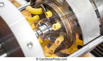 pasta machine dies brass factory industrial machine called...
