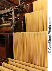 Pasta Production Plant, Industrial Italian Spaghetti