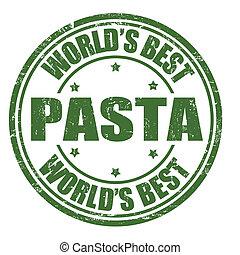 Pasta stamp