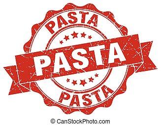 pasta stamp. sign. seal