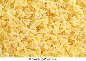 pasta, uncooked