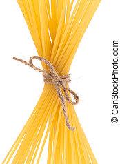 pasta, uppe, bundet, rope.