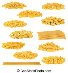 pasta, verzameling