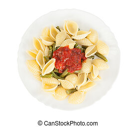 Pasta with a vegetables