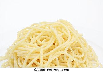pastas, espaguetis