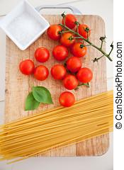 pastas, ingredientes