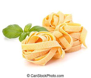 pastas, italiano, fettuccine, nido