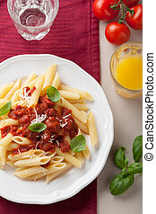 pastas, tomate, salsa, italiano