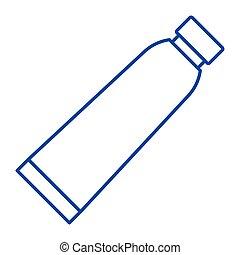 Paste - Simple thinline paste icon
