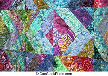 pastel, abstract, gekleurde, stikken knippatroon