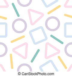 pastel abstract geometric pattern background