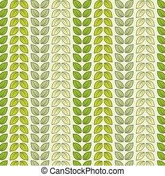 pastel, blade, farver, seamless, mønster
