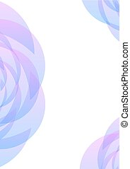 pastel blue pink petal abstract background