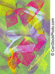 Pastel: Brightly Colored Abstract Background