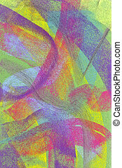 Pastel: Brightly Colored Background