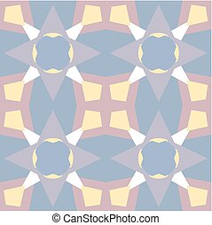 Pastel colored seamless pattern. Polygonal background