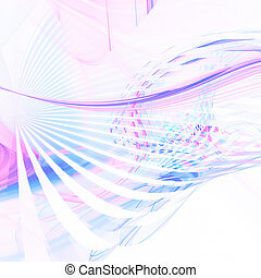 pastel, courbes