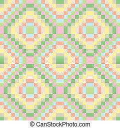 pastel, cuadrados, seamless, textura