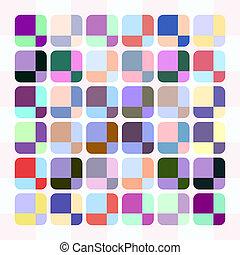 pastel cube pattern
