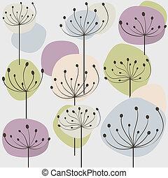 Pastel dandelion