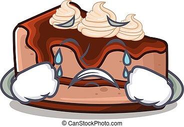 pastel de queso del chocolate, 58
