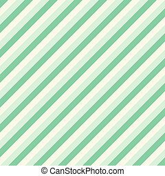 Pastel Diagonal Stripes Pattern in green tone
