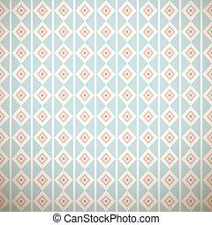 pastel, différent, seamless, (tiling), motifs, vecteur, retro