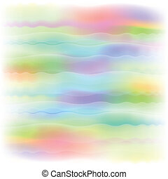Pastel dreamscape - Abstract background of washed out colors...