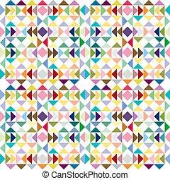 pastel, driehoek, textuur