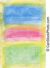 pastel:, expressionnisme abstrait